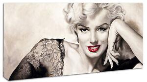 Quadro Moderno Arredamento Marilyn Monroe Rossetto Arte Arredo Casa ...