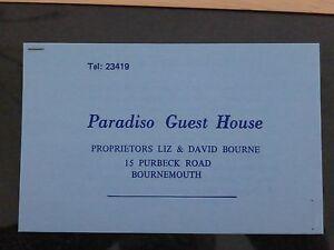 VINTAGE-PARADISO-GUEST-HOUSE-BORNEMOUTH-DORSET-CARD