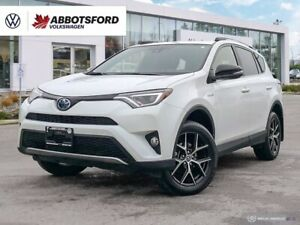 2017 Toyota RAV 4 SE AWD | 2.5L Gas/Electric | Adaptive Cruise Contr