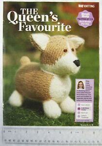 Woman-039-s-Weekly-pattern-The-Queen-039-s-Favourite-knitted-corgi-19-x-17cm-mohair