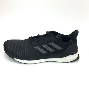 Adidas-Solar-Boost-Mesh-Sneakers-Running-Shoes-Black-Men-s-Size-14-New-With-Tags