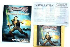 Crusaders-of-Might-amp-Magic-1999-PC-game-Disc-Manual-amp-install-guide-Nice-condtn