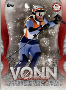 2018-Topps-U-S-Olympic-Team-Lindsey-Vonn-Career-Milestones-Sports-Card-Pick