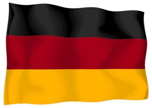 Sticker decal vinyl decals national flag car ensign bumper germany german