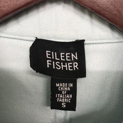con chiusura Eileen scatto con Blue Blusa trama frontale Small Topper Fisher Teal a Small vU8qxUI