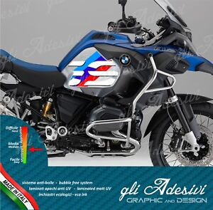 2-Adesivi-Fianco-Serbatoio-Moto-BMW-R-1200-gs-adventure-LC-Sport-Motorrad