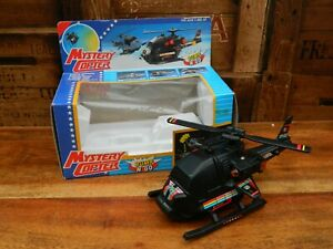 Mystery-Copter-Toy-Helicopter-Bump-N-Go-Vogue-Star-1990-Vintage-Retro