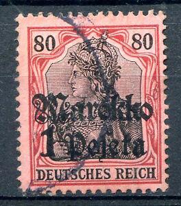 GERMANY-MOROCCO-Yvert-53-Used-VF