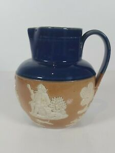 Royal-Doulton-Salt-Glaze-Jug-Pitcher-2892-Appr-5-5-034-14cm-H