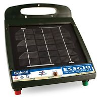 RUTLAND ENERGISER ESS610 Solar Powered Fence Energiser Fencing Horse Fence Unit