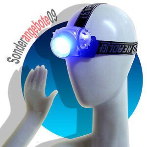 Stirnlampe-Kopflampe-Lampe-Taschenlampe-Arbeitsleuchte-7LED-NEU-Kopfleuchte