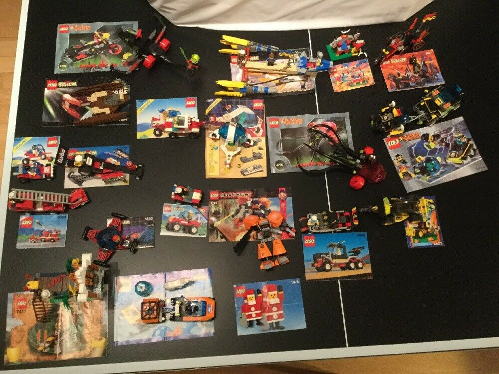 Lego 20 sets  all complete  collection legoland