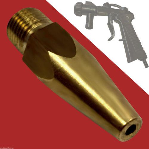 Luftdüse für Sandstrahlpistole SBC 90//220//350//P1 Ersatz-Düse Strahldüse Messing