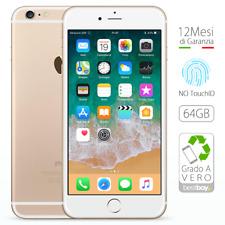 Apple iPhone 6 Plus 64GB Oro Ricondizionato GRADO A Sigillato Gold come NUOVO