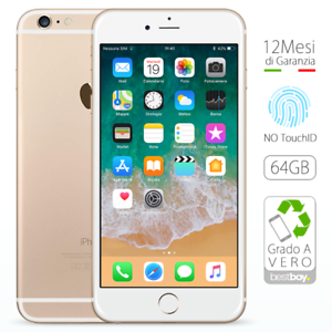 Apple-iPhone-6-Plus-64GB-Oro-Ricondizionato-GRADO-A-Sigillato-Gold-come-NUOVO