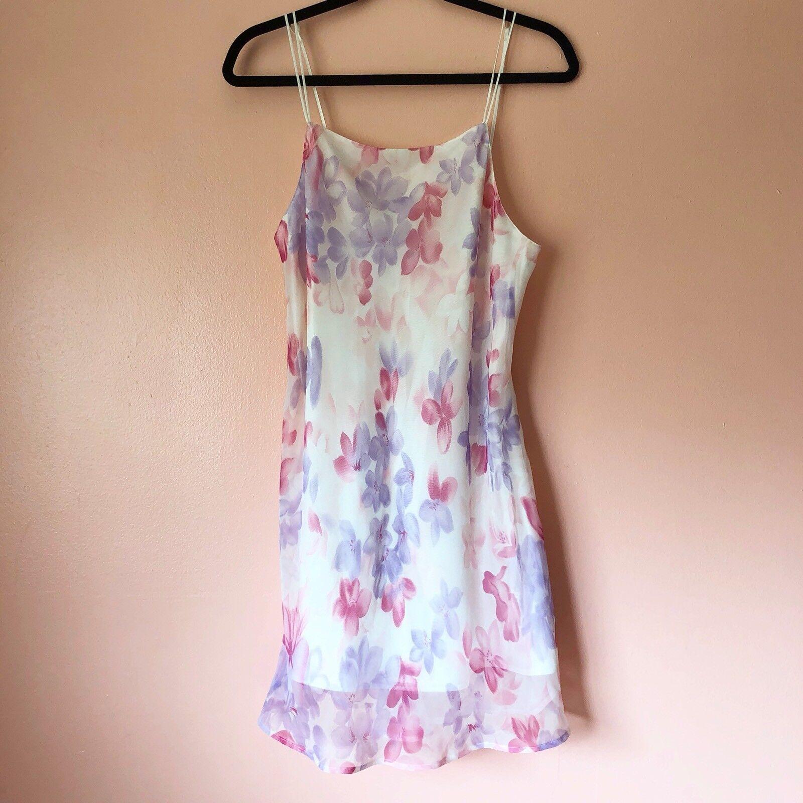 Vintage Floral Slip Dress - image 2