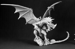1 x RED DRAGON - PATHFINDER REAPER miniature figurine rpg rouge winged 60028