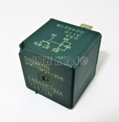 560-chrysler jeep dodge 5 broches abs vert relais 04848879AB siemens 72472M usa