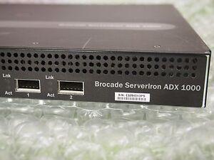 Details about Brocade ServerIron ADX 1008-1-PREM Load Balancer  SI-1008-1-PREM 8GE AC
