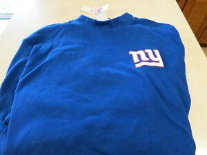aebd79b4f NWT NFL Apparel NY GIANTS big and Tall long sleeve T shirt xl