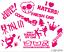 11-Aufkleber-im-Set-I-Love-Blitzer-Krone-Sticker-Autoaufkleber-Tuningfreunde Indexbild 5