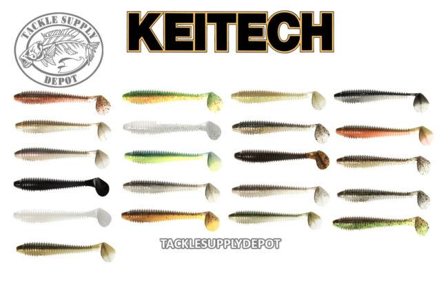 Pick KEITECH 4.3 FAT Swing Impact Swimbait Paddle Tail 4.3 inch 6pk JDM