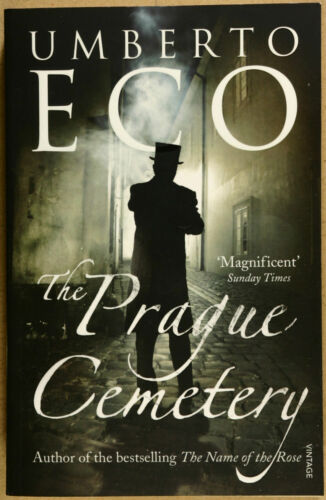 1 of 1 - The Prague Cemetery by Umberto Eco VG Qld Copy Qikpost B