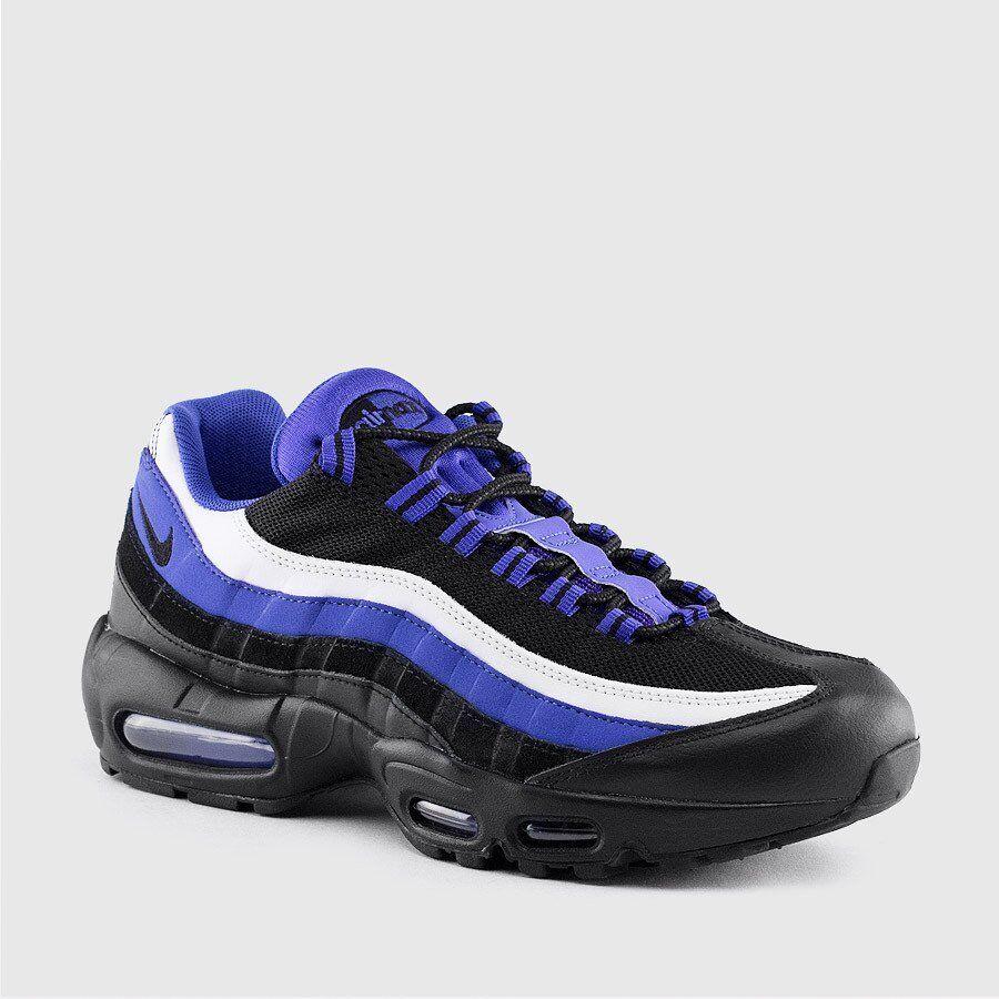 Nike Air Max 95 Premium Sneakers New, Persian Violet Black 749766-501 sku AA Brand discount