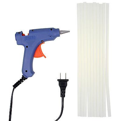 Professional Mini Electric Heating Hot Melt Glue Gun 20W + 10 Free Glue Sticks