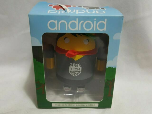 Android Mini Collectible Special Edition Tech Intern 2016 Female Figure Toy 16 For Sale Online Ebay