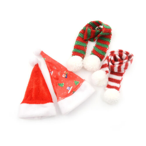 Handmade  Doll Christmas Hat Scarf For  1//6 Doll Accessories~ VG