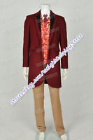 Django Unchained Cosplay Monsieur Calvin J Candie Costume Trench Coat Halloween