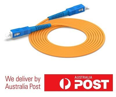 High Quality Fiber Optic Patch Cord SC-SC Single-mode /& Single Core 3M//5M//10M