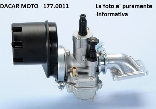 D19 POLINI PEUGEOT  103-104 177.0011 IMPIANTO ALIMENTAZIONE CARB 105
