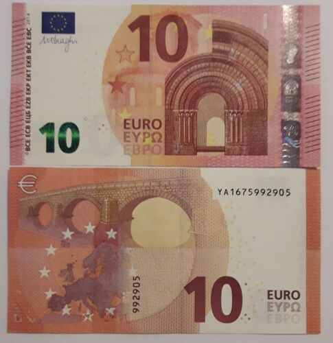 10 Euro 2014 serie YA UNC Lemberg-Zp Greece