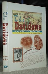 RARE-THE-DAVIDOWS-FAMILY-HISTORY-BOONIN-PHILADLEPHIA-AUTHOR-SIGNED-LETTER