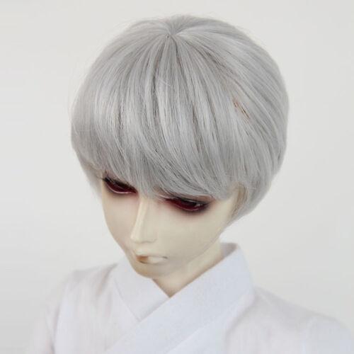 """1//3 BJD Doll Size Wig 9-10/"""" 22-24 cm  SD DZ DOD boy girl short hair wig"""