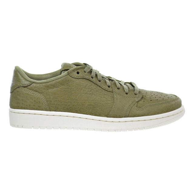 892cb8c50dc Nike Air Jordan 1 Retro Low 848775-205 No Swoosh Trooper Olive Green ...
