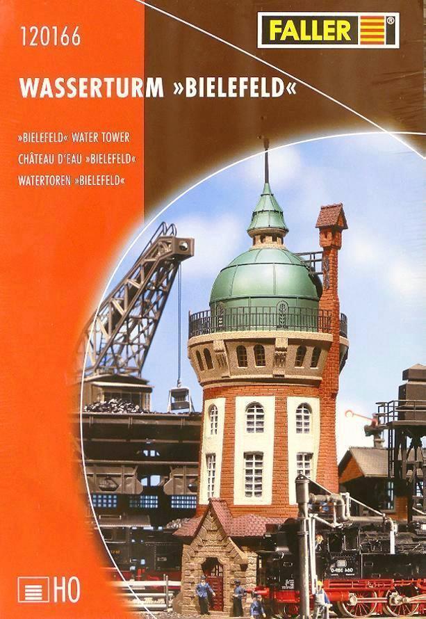 Faller 120166 H0 - Wasserturm   Bielefeld   NEU & OvP  | Starke Hitze- und Abnutzungsbeständigkeit