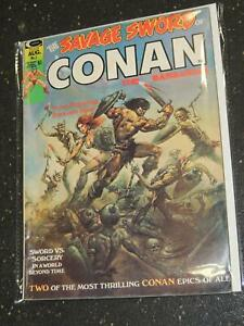 The savage sword of conan the barbarian comic book value
