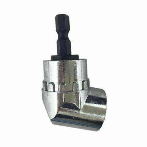 New 105 Angle 1//4 6mm Extension Hex Drill Bit Screwdriver Socket Holder Adaptor