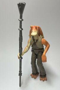 HASBRO Star Wars EPISODE 1 JAR JAR BINKS LOOSE COMPLET 1999