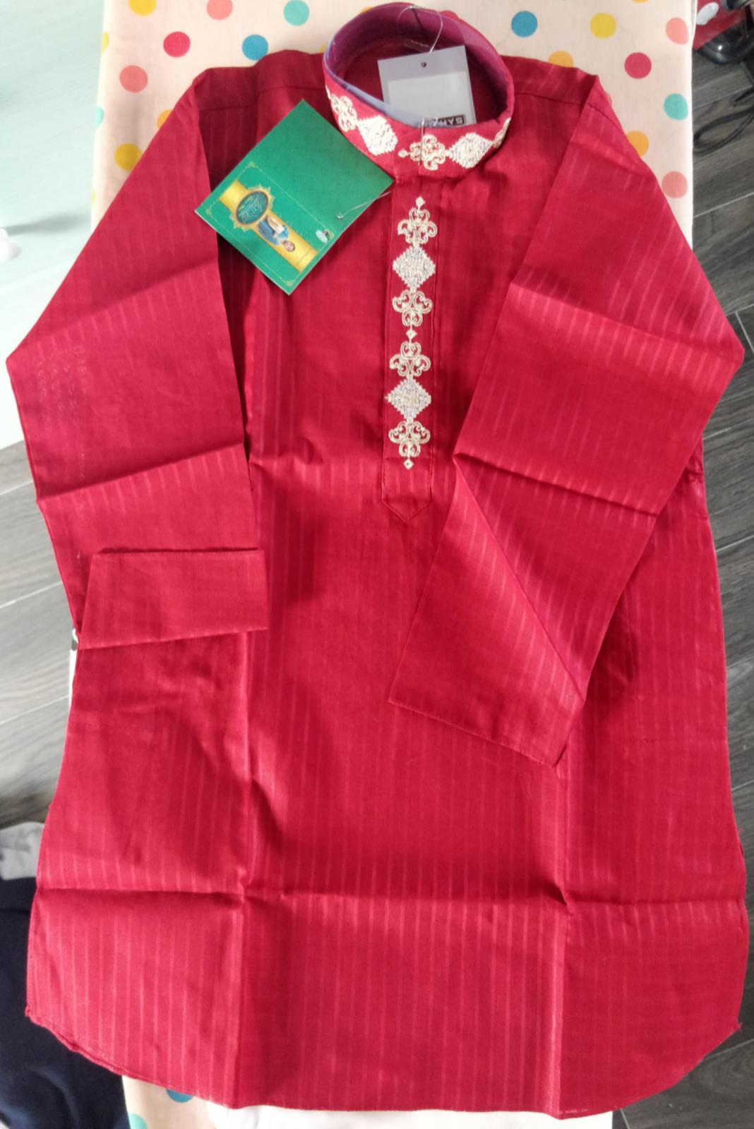 Pothys brand new Boys kurtha sherwani set Size 24 (Age 4-5)