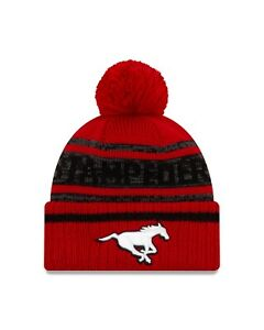 Men-039-s-New-Era-Team-Colour-CFL-Football-Official-Pom-Toque-One-Size-Fits-Most
