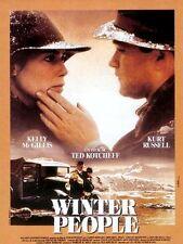 "Affiche film ""Winter People"" de Ted Kotcheff avec Kelly McGillis et Kurt Russell"