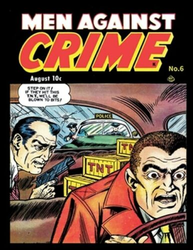 Brand New Free shipping in the US Men Against Crime #6