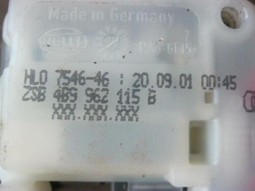 SERVOMOTORE PORTELLONE dispositivo AUDI a4 b6 8e a6 4b VW Passat 3bg 4b9962115b