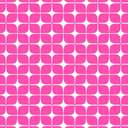 Baumwollstoff Camelot Neon /& On Neon Pink Lozenges Stoff  0,5m