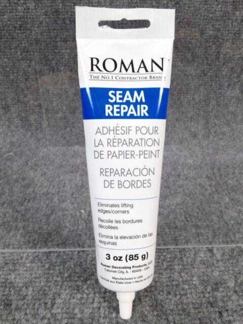 1 - Liquid Wallpaper Border Adhesive Seam Repair 3 Oz Tube - NEW Free Ship
