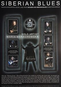 ORIGINAL-SIBERIAN-BLUES-SIGNED-POSTER-42x30-cm-AUTOGRAPHED-BY-MARIA-MARACHOWSKA